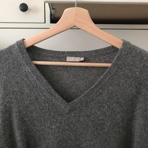 Jcrew v neck wool sweater